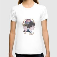 221b T-shirts featuring The Two of 221b Baker Street by Jess P.
