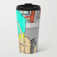 will you catch me if I fall? Metal Travel Mug