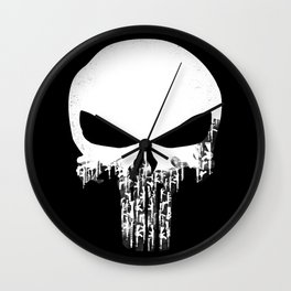 Weapons Of Punishment - Punisher Comic Wall Clock