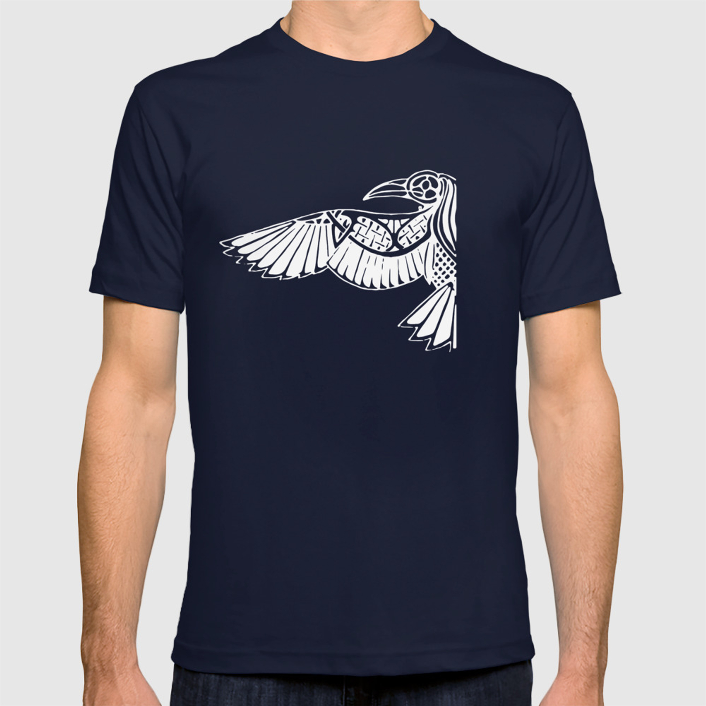 880e1c25 Viking Raven Huginn And Muninn Thor Odin Valhalla Norse Viking T-Shirts  T-shirt