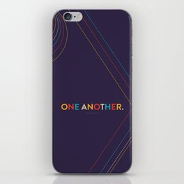 One Another Scripture Poster (Colossians 3) iPhone Skin