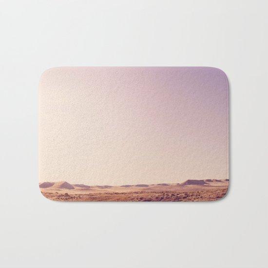 Desert Sand Dune Landscape Bath Mat