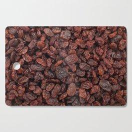 Tasty raisins Cutting Board