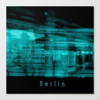 berlin Canvas Prints featuring Berlin by Laake-Photos
