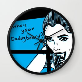 Daddyboard Wall Clock
