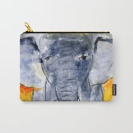 Elephants Remember Carry-All Pouch
