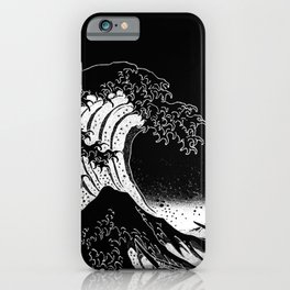 Hokusai, the Great Wave iPhone Case