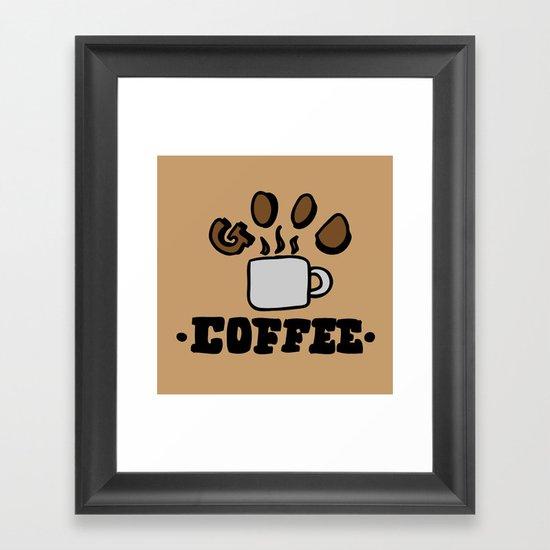 good coffee Framed Art Print