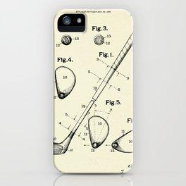 Golf Club-1910 iPhone Case