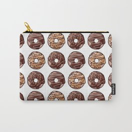 Chocolate Donuts Pattern Carry-All Pouch
