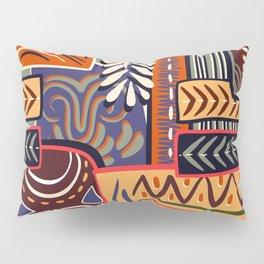 African Geometric Pattern Pillow Sham
