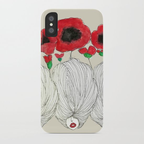 Poppy Girls iPhone Case