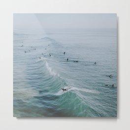 lets surf ix Metal Print