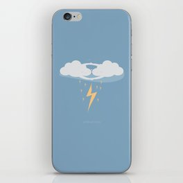 Together We're Electric iPhone Skin