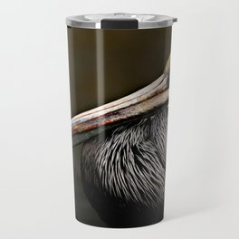 Brown Pelican Portrait Travel Mug