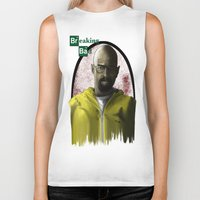 breaking bad Biker Tanks featuring breaking bad by Dan Solo Galleries