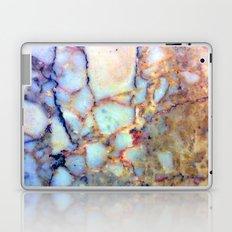 marble effect 007 (blue) Laptop & iPad Skin