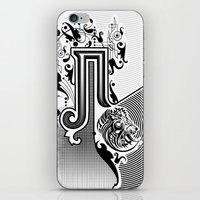 pi iPhone & iPod Skins featuring PI by Artysmedia