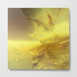 3D Fractal Landscape 2 Metal Print
