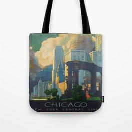 Vintage poster - Chicago Tote Bag