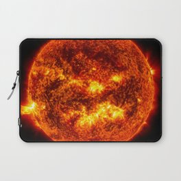 The Surface of The Sun - Burning Star Laptop Sleeve