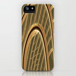 modern metalArt iPhone Case