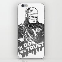 robocop iPhone & iPod Skins featuring Robocop  by Superdroso