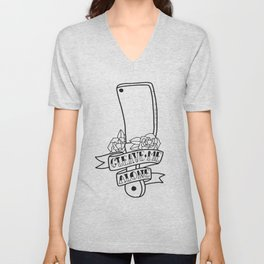 Cleave Me Alone Unisex V-Neck