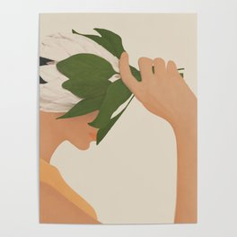 One with Nature Poster