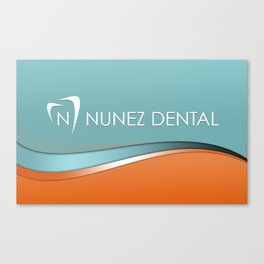 Nunez Dental Logo Canvas Print
