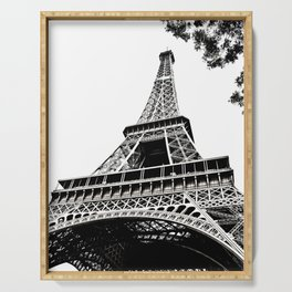 Eiffel Tower in Paris, France. Serving Tray