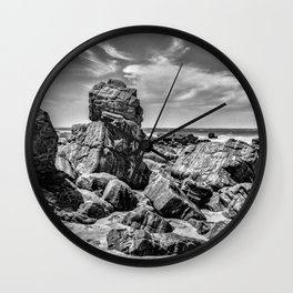 Big Rocks at Praia Malhada Jericoacoara Brazil Wall Clock