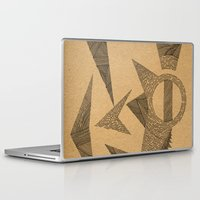 silence of the lambs Laptop & iPad Skins featuring - silence - by Magdalla Del Fresto