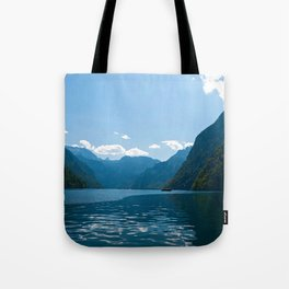 Koenigssee Lake with Alpes Tote Bag