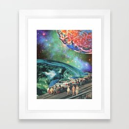 Leisurely Expedition Framed Art Print