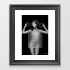 On Silent Framed Art Print