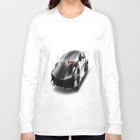 lamborghini Long Sleeve T-shirts featuring Just a Lamborghini by Ispas Sorin