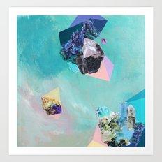 Mineral Leo Art Print