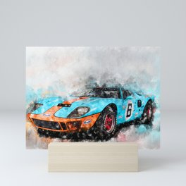 GT40 Mini Art Print