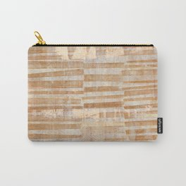 Rusty Grid Carry-All Pouch