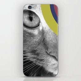 Pshycedelic Cat iPhone Skin
