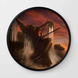 The Never Never Wall Clock