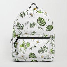 Scattered Garden Herbs Backpack