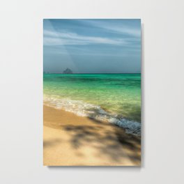 Shaded Beach Metal Print