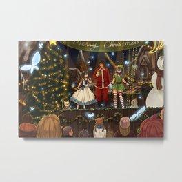Christmas Date - Gruvia Metal Print