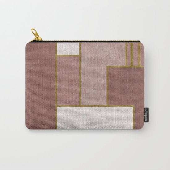 ABSTRACT GEOMETRIC 02 (marble) Carry-All Pouch