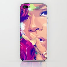 Rihanna iPhone & iPod Skin