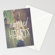 Shattered Hearts Club Stationery Cards