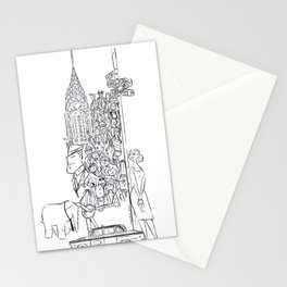 Newyorkers 2 Stationery Cards