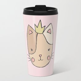 Princess Cat Travel Mug